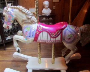 Not a movie horse exactly  but living out his pretty pink years at the Crazy Horse Museum in the Black Hills