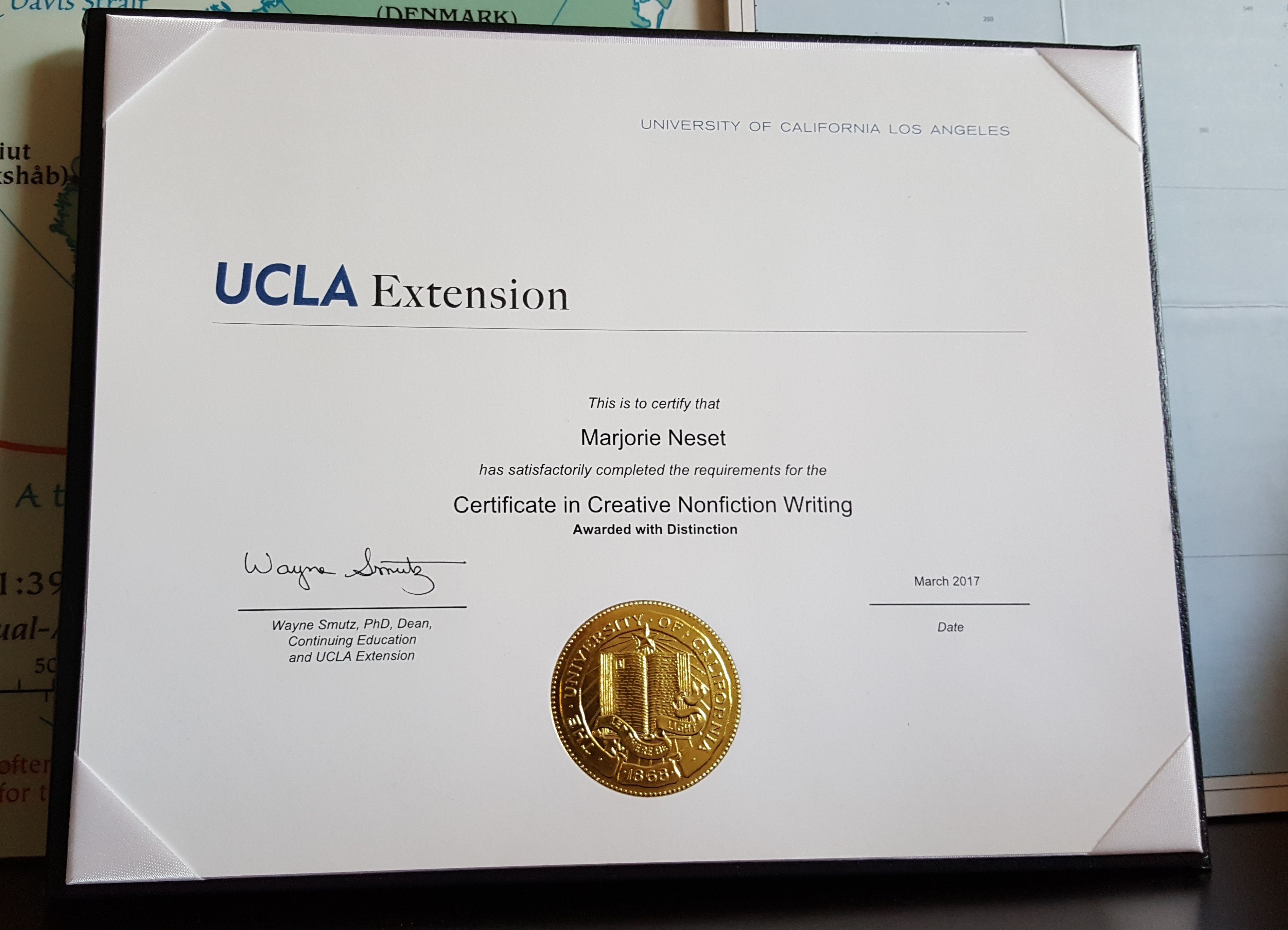 ucla extension creative writing certificate If you're pursuing a creative writing certificate, you must enroll in this class for a letter grade and earn at least a c or better  ucla extension provides .